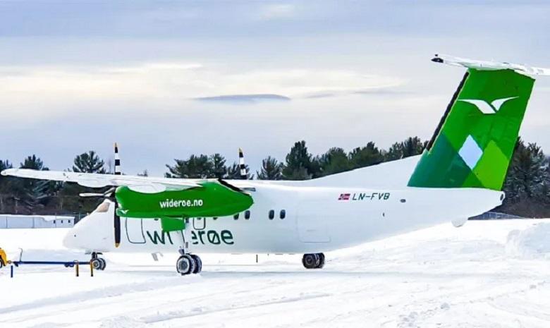 Widerøe lanserer Dash 8