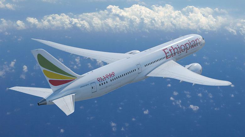 Ethiopian Airlines øker på Oslo Lufthavn