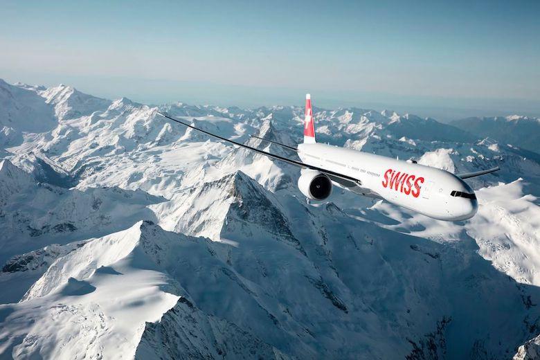 SWISS flyr sin lengste flyvning