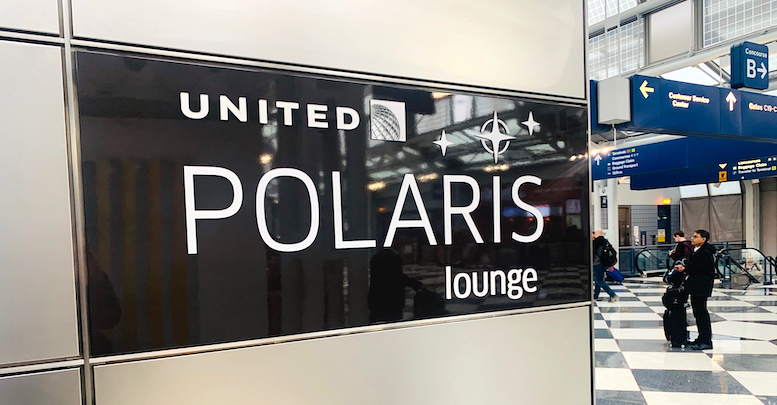 United Polaris Lounge i Chicago