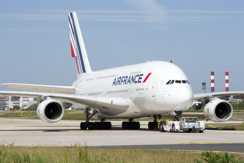 Air France parkerer