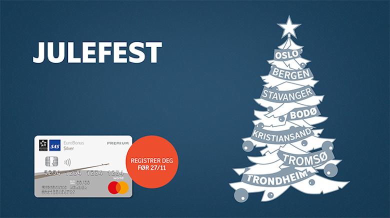 SAS EuroBonus Mastercard Premium Julefest