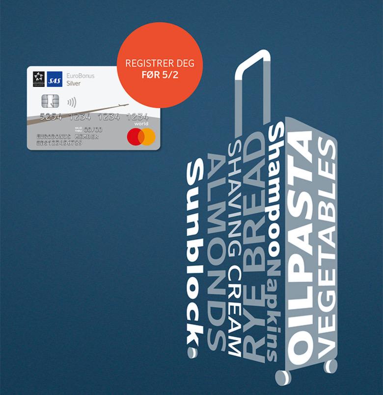 SAS EuroBonus Mastercard
