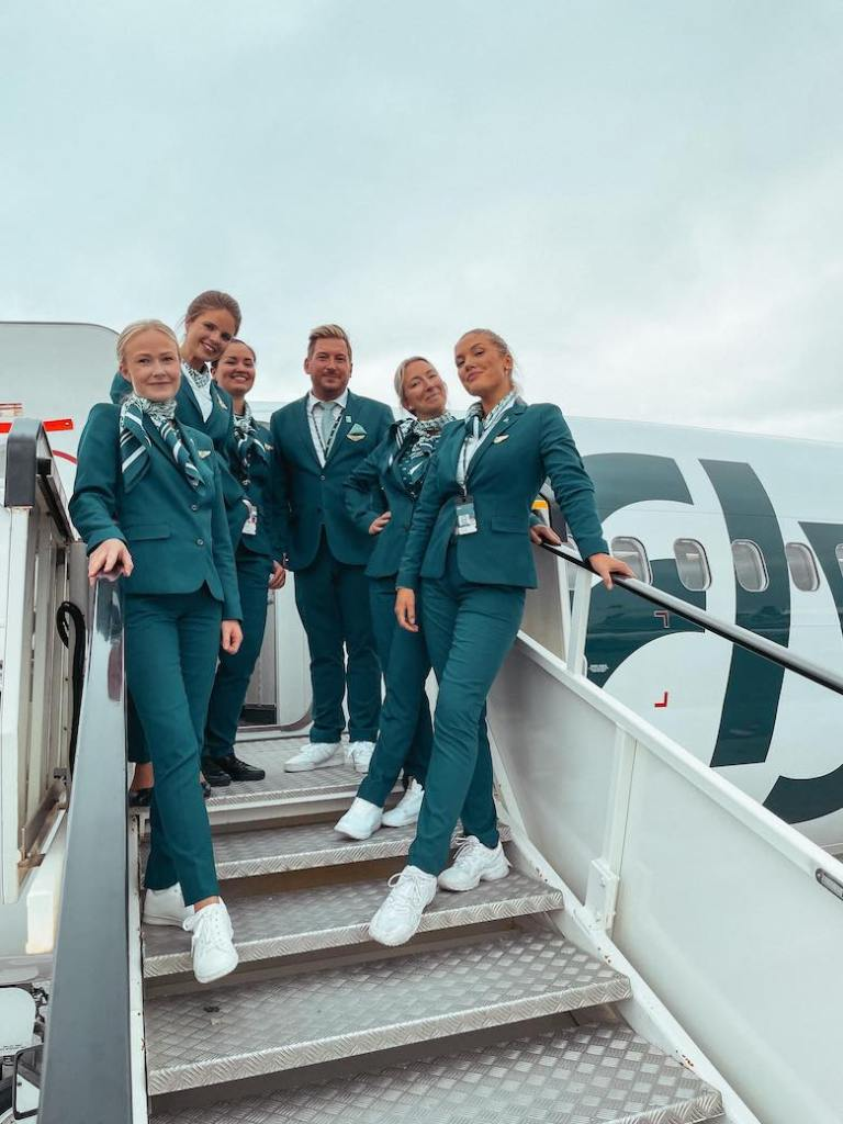 Flyr til København