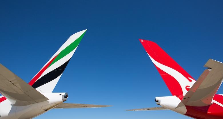 Emirates og Qantas forlenger partnerskapet