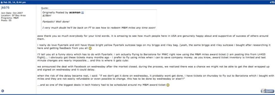 FlyerTalk Forums 4f
