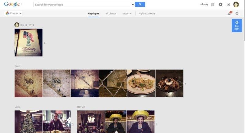"""Google+ Web"""