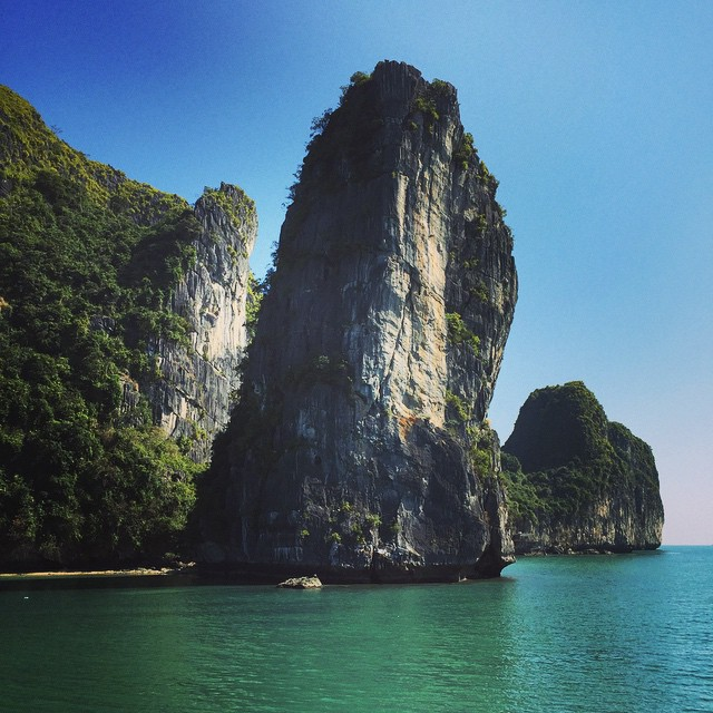 Halong Bay. Absolutely Incredible.