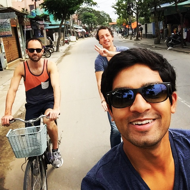 Biking Around Hanoi