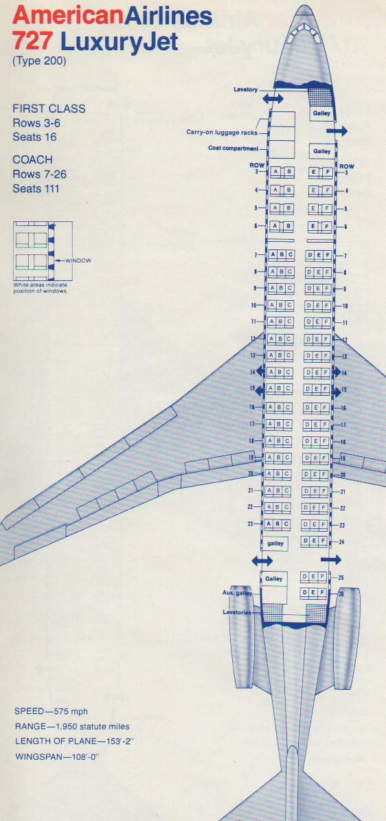 Vintage Airline Seat Maps Archives Page 6 Of 18