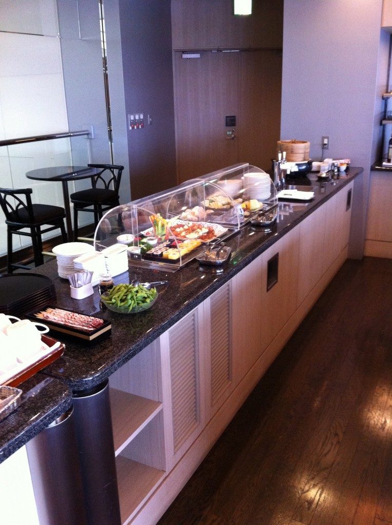 Lounge Review United Airlines Global First at Tokyo