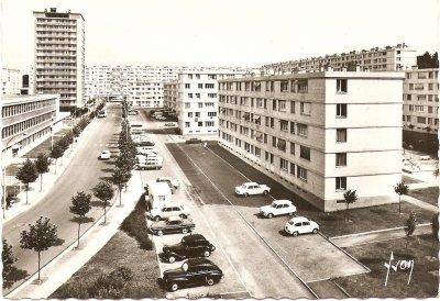 Beauvais - Quartier de la Soie-Vauban - Circa 1960