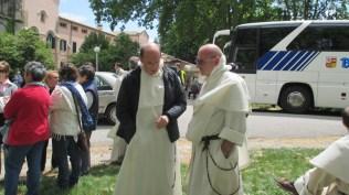 Les frères Bernard Senelle (Strasbourg) et Thierry Hubert (Lille)