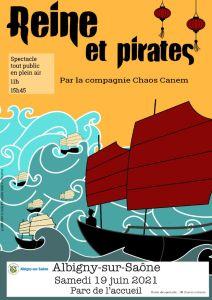 thumbnail of Albigny-sur-Saône (3) sans prix affiche