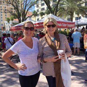 Martha Stewart Visits West Palm Beach GreenMarket