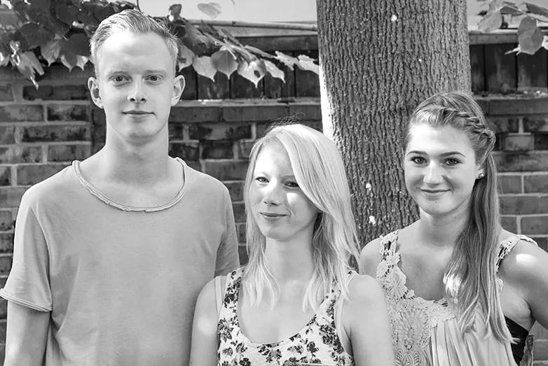 Alexander Gerdes, Malien Arndt, Caroline Schulze