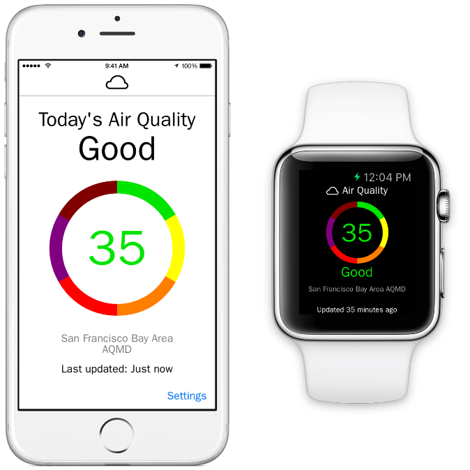 Fresh Air  Realtime Air Quality Info On Your Iphone And