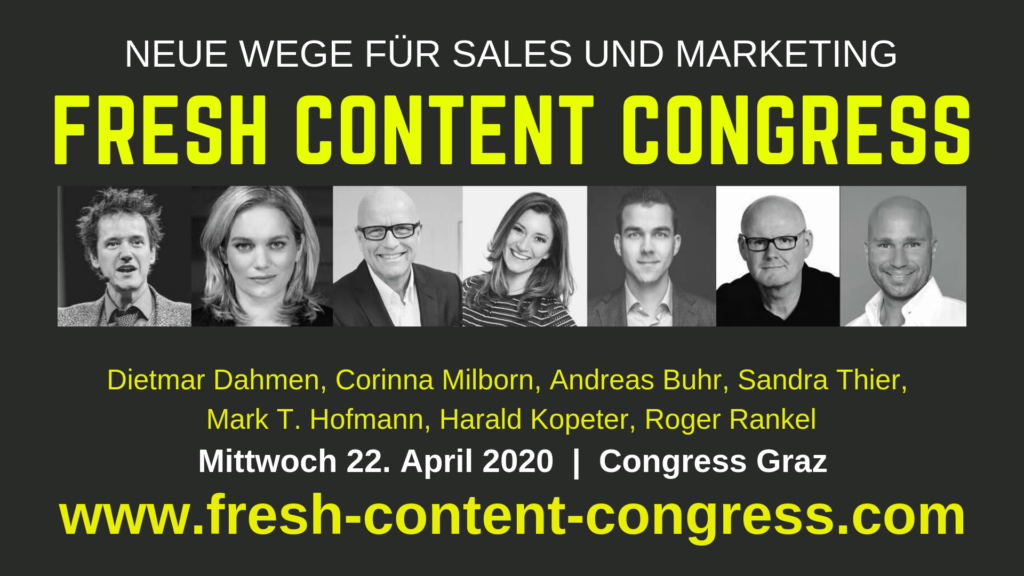 Fresh Content Congress FCC 2020
