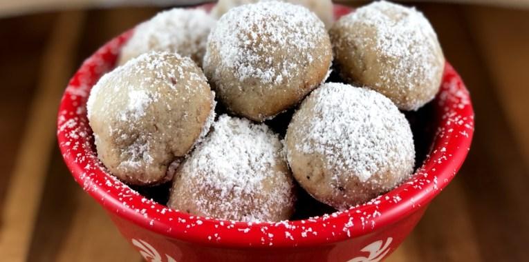 Grain-Free Snowball Cookies