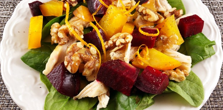Sunrise Salad with Roasted Beets