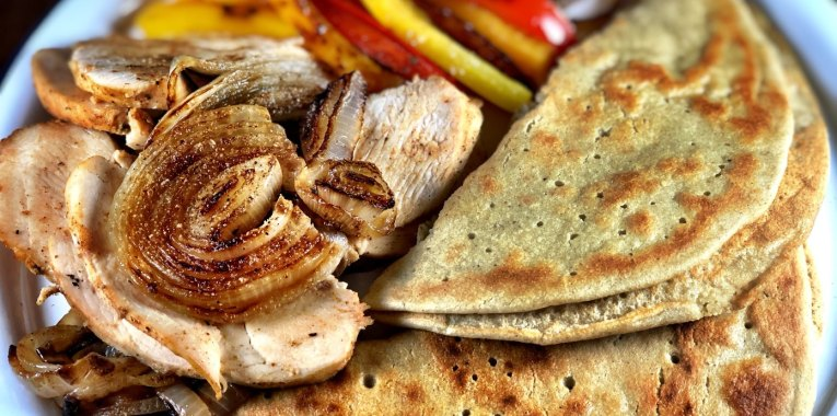 Grain-Free Chicken Fajitas