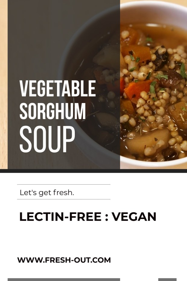 Instant Pot Vegetable Soup with Sorghum