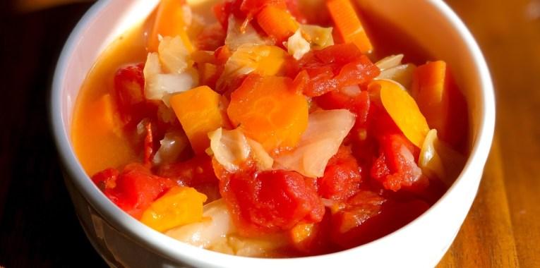 Instant Pot Vegan Cabbage Soup
