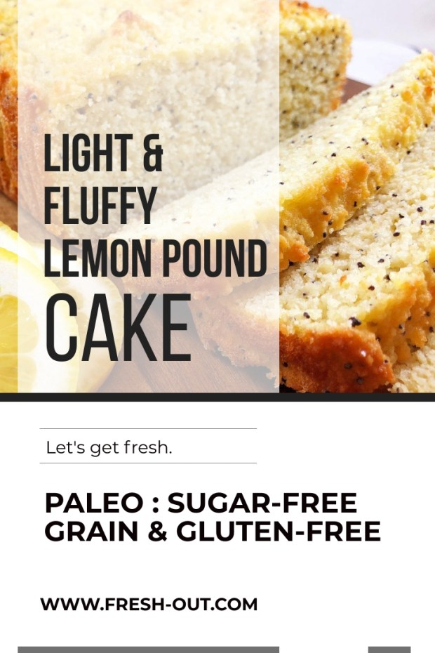 LIGHT AND FLUFFY LEMON POUND CAKE