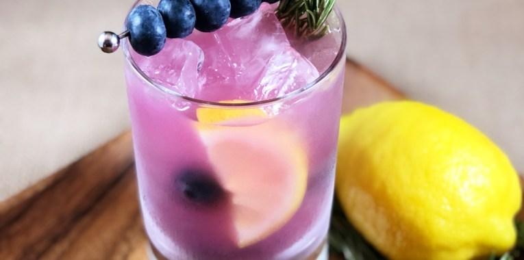 Blueberry Rosemary Crush