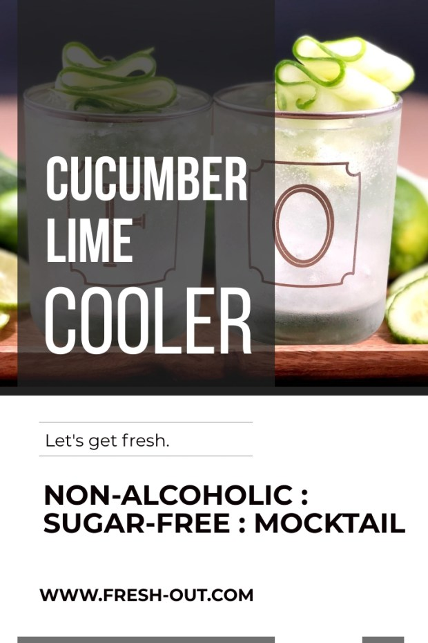 CUCUMBER LIME COOLER MOCKTAIL