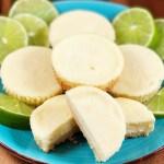Grain-Free Mini Key Lime Cheesecakes