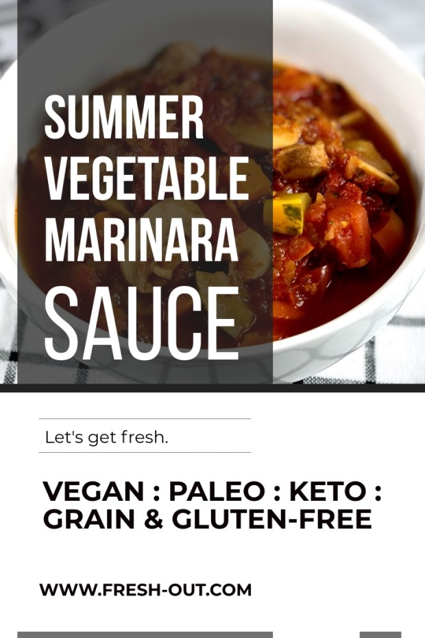 SUMMER VEGETABLE MARINARA SAUCE