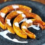 Maple Spice Roasted Pumpkin