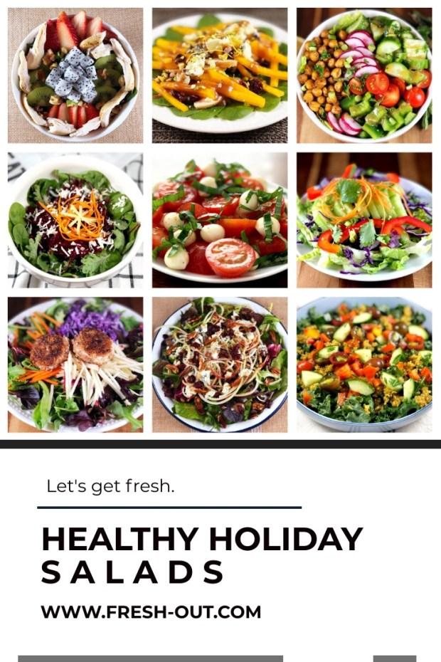 HEALTHY HOLIDAY SALAD RECIPES
