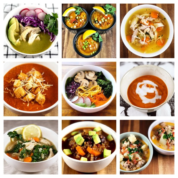 Healthy Holiday Soups