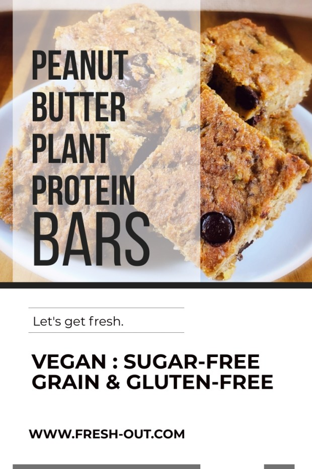 PEANUT BUTTER PLANT PROTEIN BARS