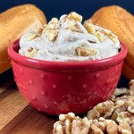 Vegan Maple Walnut Cashew Cream Cheese Spread