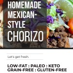 HEALTHY MEXICAN CHORIZO