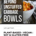 BEYOND INSTANT POT UNSTUFFED CABBAGE BOWLS