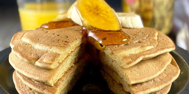 Vegan Chickpea Flour Pancakes