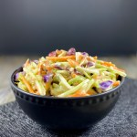 Vegan Broccoli Slaw Salad