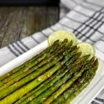 Roasted Coriander Lime Asparagus