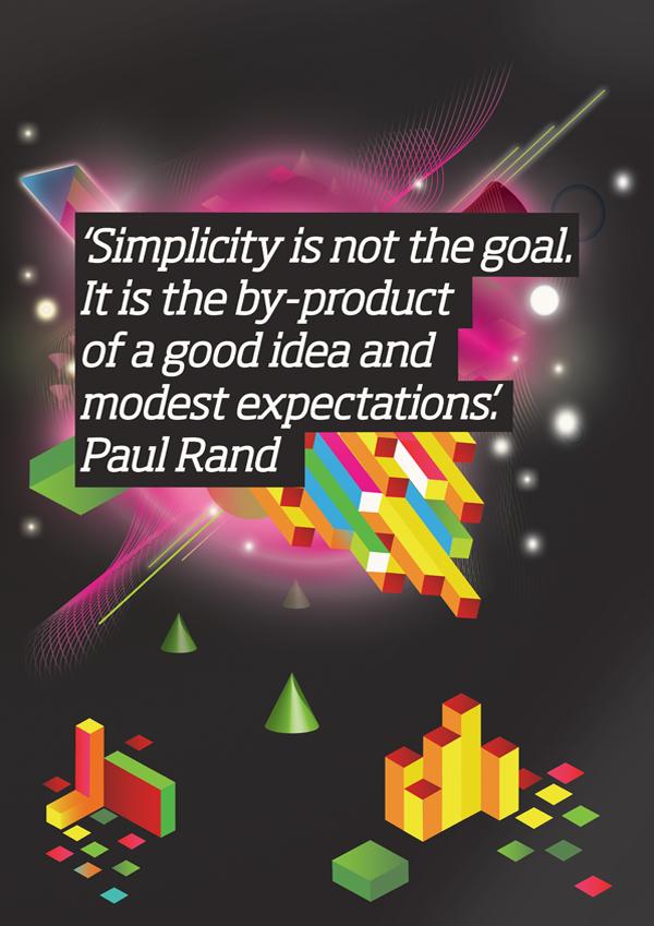 Gordon Reid x Paul Rand