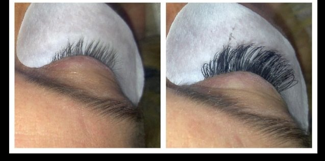 Lash extensions over 40