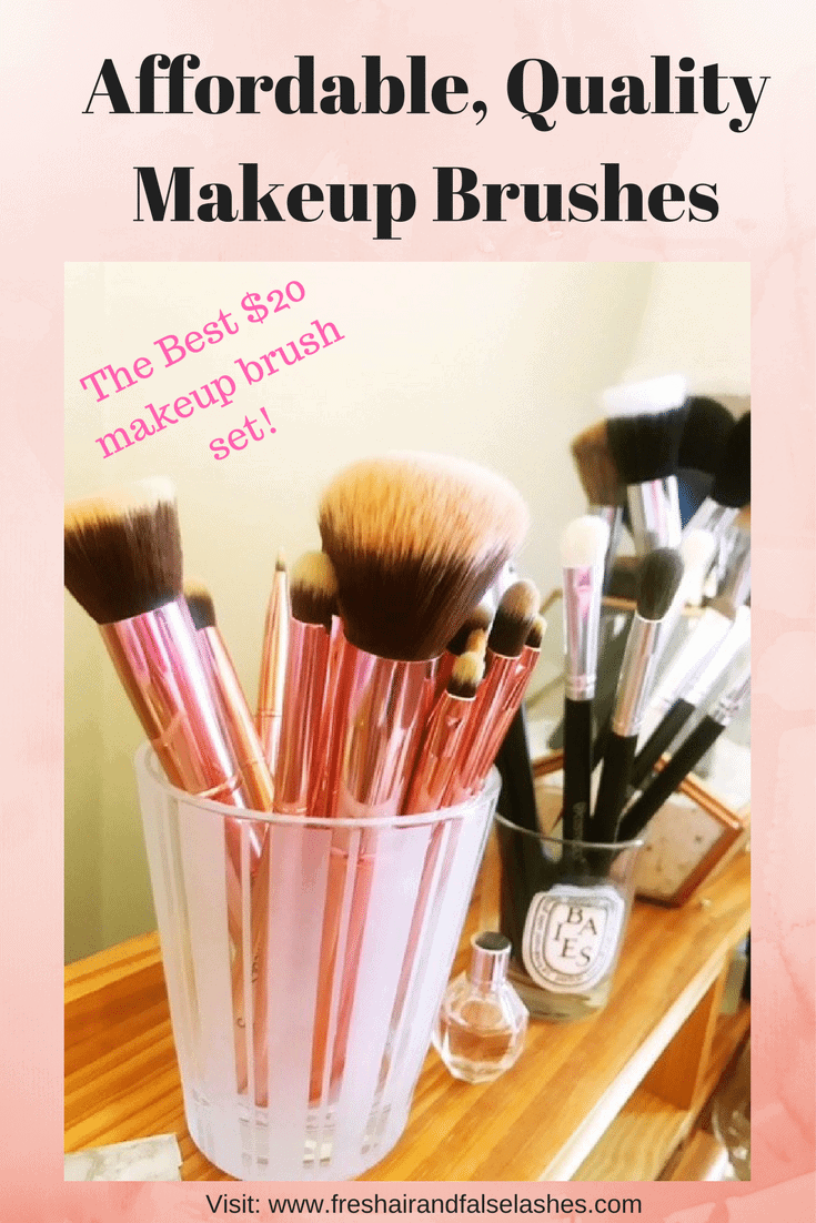 Affordable, Quality Makeup Brushes for everyday Use!
