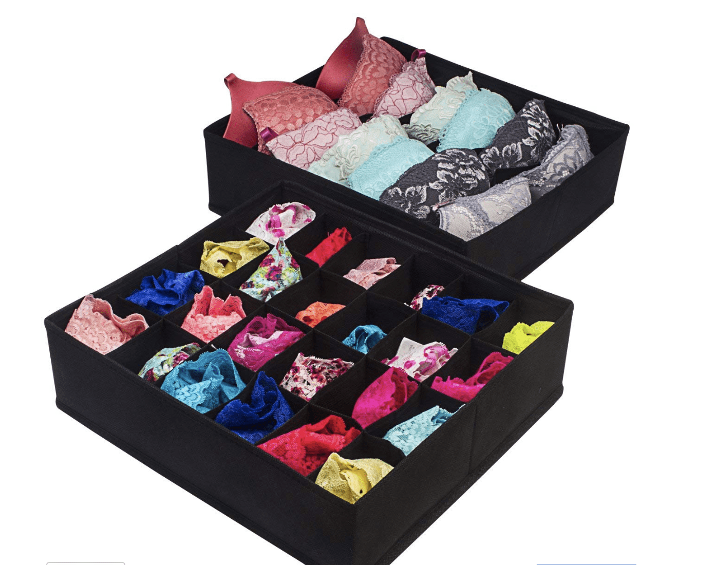 Organizing your Underwear Drawer- These storage dividers are perfect!