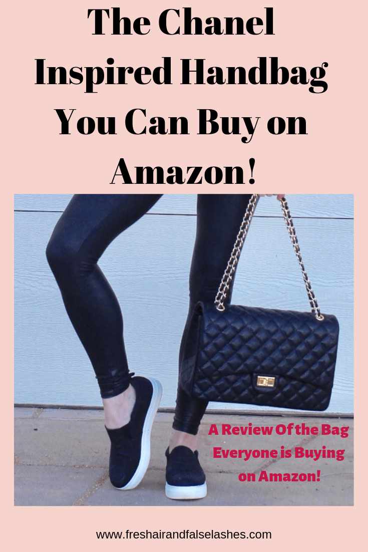 The Chanel Inspired Bag that You Can Buy on Amazon. Full Review.