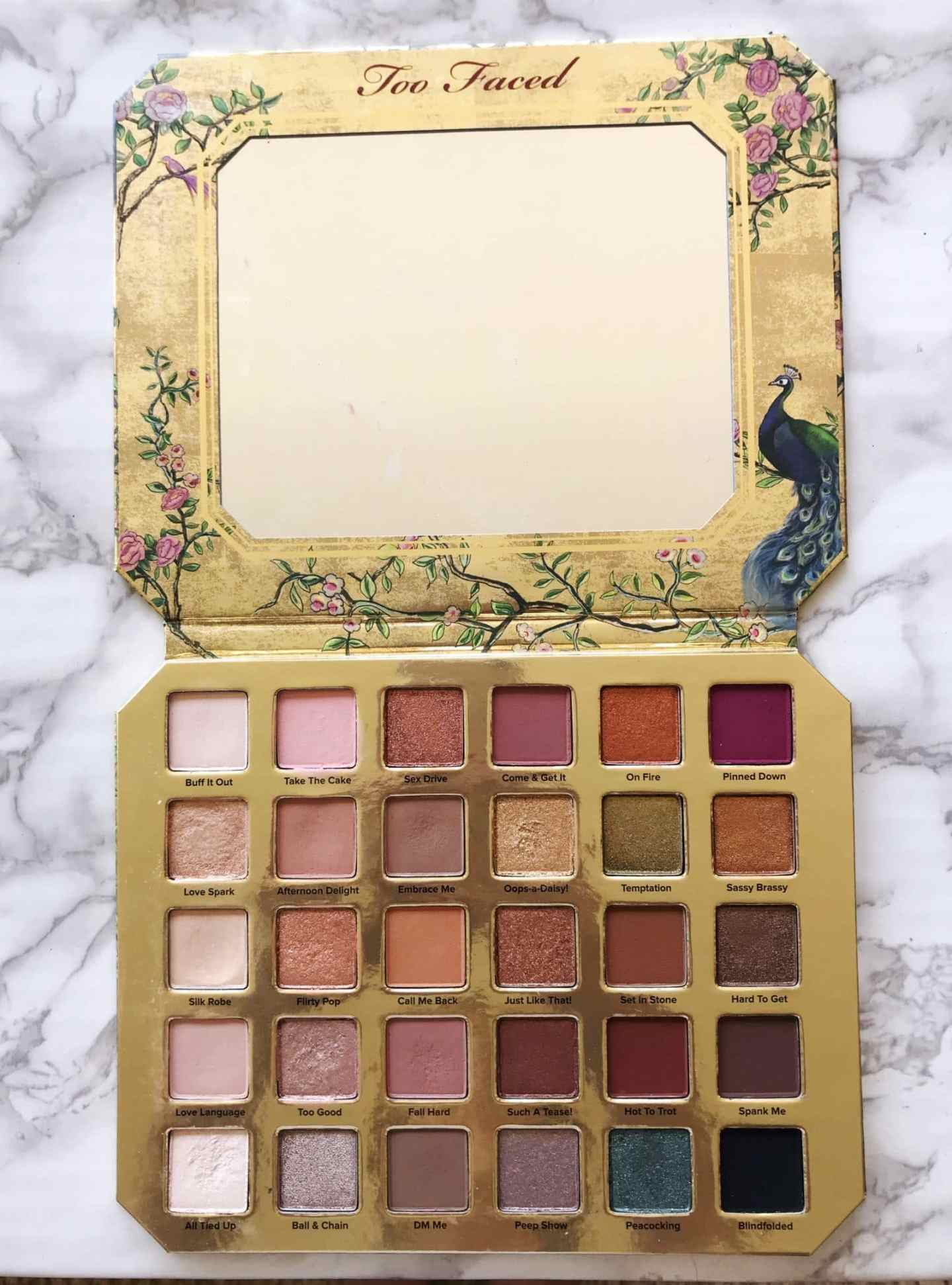 Too Faced Natural Lust Palette. A review for mature eyes.