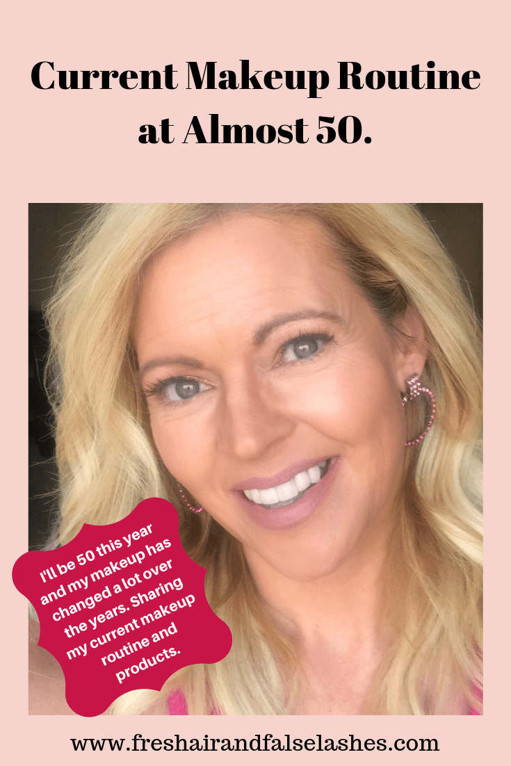 My makeup over 40 (Almost 50). The routine and all of my holy grail products for mature skin.