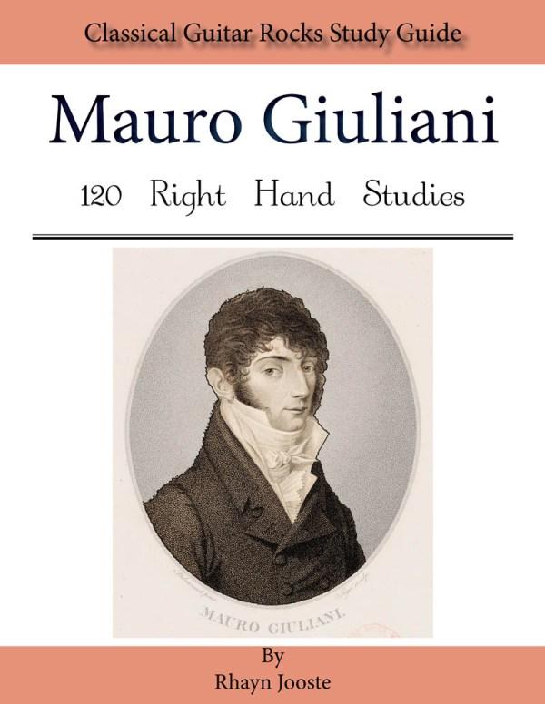 120 Right hand studies Mauro Giulian Leo Brouwer